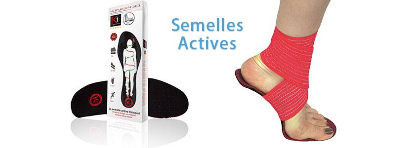 Semelles Actives
